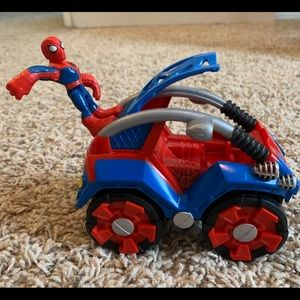 Playskool Heroes Spiderman FlipOut Stunt Buggy